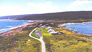 View north from Cape Leeuwin