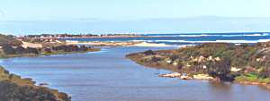 Dongara river mouth
