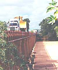 Gascoyne River bridge