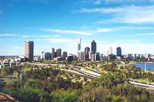 Perth City by day