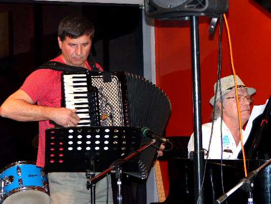 A touch of Balkan music from accomplished accordionist Esmir Zucancic and pianist Michael Grozdanovic.