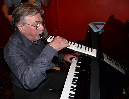 Pianist Ray Haynes adds a second instrument, as if one keyboard isn't enough! November.
