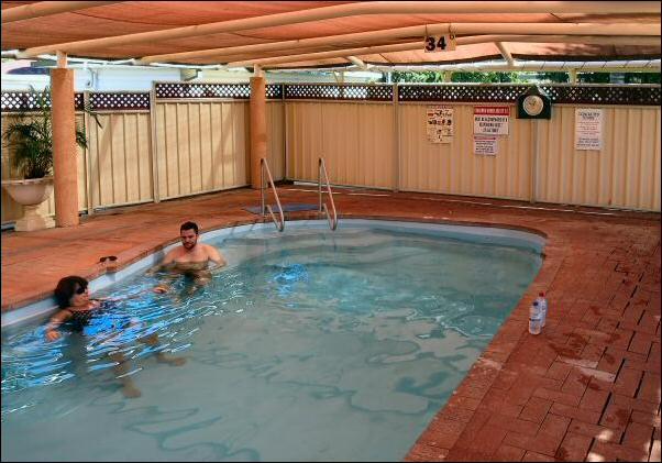 34 degC pool