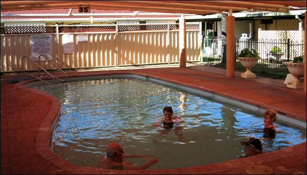 the 35 degC pool