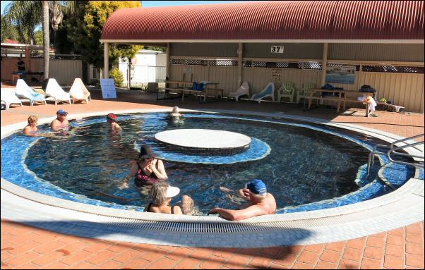 37 degC pool