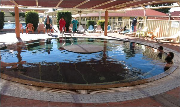 39 degC pool